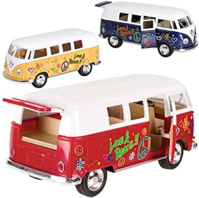 Amazon.com  Toysmith Flower Power VW Bus  Toys   Games ca255cf18