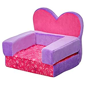 Amazon Com Build A Bear Workshop Heart Chair Bed Toys