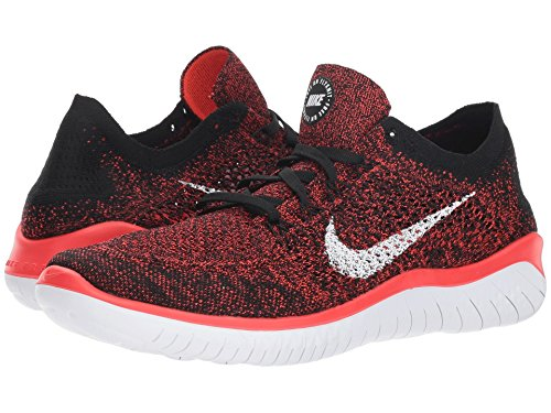 602 Free Compétition Chaussures Running Flyknit bright black Multicolore Nike De white Homme Crimson Rn 2018 Z0wxd0nI6q
