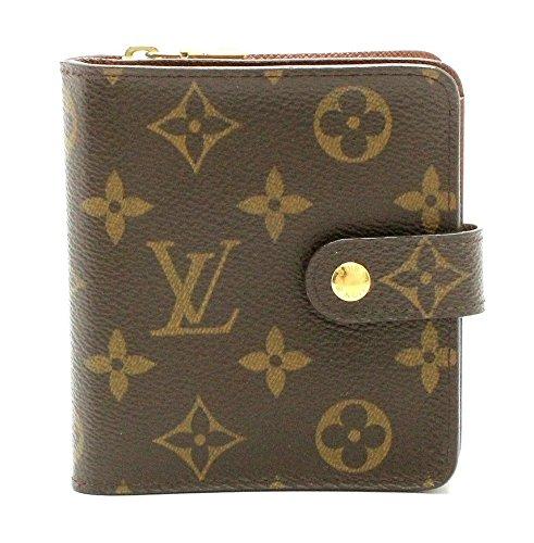 [ルイ ヴィトン] LOUIS VUITTON モノグラム コンパクトジップ コの字型 2つ折ファスナー財布 M61667 B07F6RTL9H  -