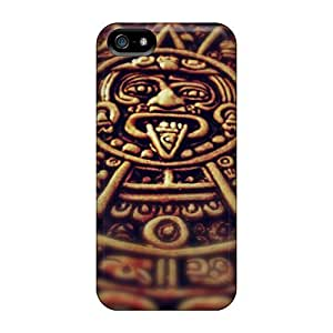 Faddish Mayan Medallion Case Cover For Iphone 5/5s