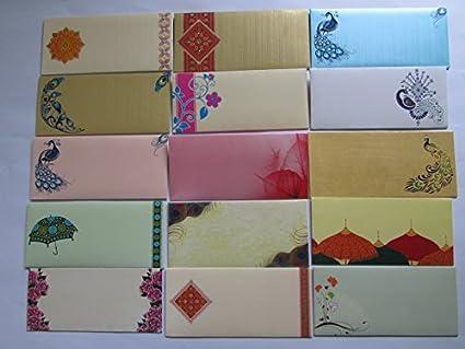 Amazon Com Premium Quality Shagun Gift Money Envelopes Pack Of 12