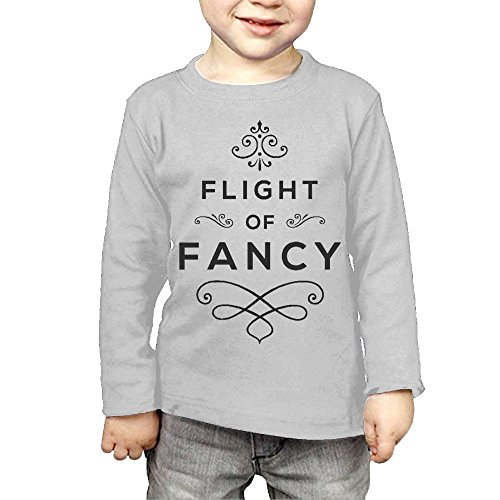 Intaiqub Flight Of Fancy Logo Children's Long Sleeves T-shirt 3 Toddler - Orlando Centers Outlet