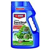 Bayer Advanced 701700 12 Month Tree and Shrub Protect and Feed Granules, 4-Pound