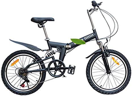 LYGID Bike Folding Bicicleta Plegable Cuadro Ruedas 20