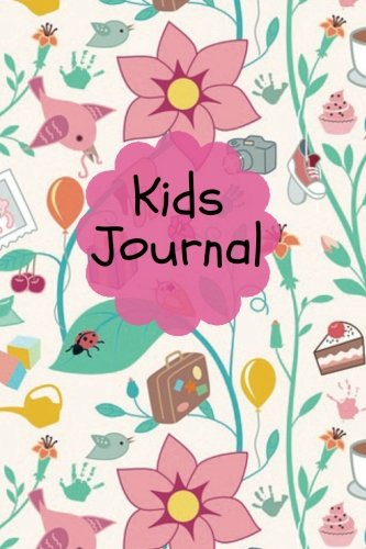 "Kids Journal: Pink Cover | Children's Lined Journal With Drawing Boxes | Draw, Write, Doddle, Diary, Jotter, Ruled | 100 pages | 6"" x 9"" Small notebook (Kids Collection) (Volume 6)"