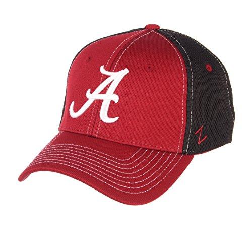Alabama Crimson Tide Baseball - NCAA Alabama Crimson Tide Men's Rally Z-Fit Cap, Medium/Large, Cardinal/Black
