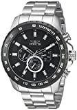 Invicta Men's 'Speedway' Quartz Stainless Steel Casual Watch, Color:Silver-Toned (Model: 24210)