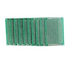 Vktech 10pcs 4x6cm Double Side Prototype PCB Universal Printed Circuit Board