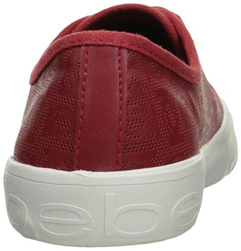 Bebe Kvinna Dane-l Mode Sneaker Röda Faux