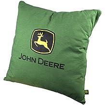 John Deere Trademark Logo Throw Pillow