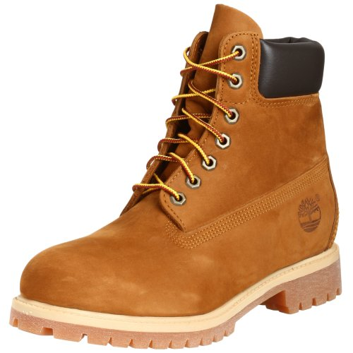 Timberland 6 in Premium, Stivali Uomo Marrone (Rust Orange)