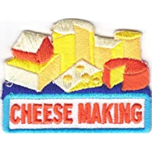 ''CHEESE MAKING'' PATCH- Iron On Embroidered Patch/Food, Cheese. Dairy Product Our custom patches are perfect for uniforms, duffle bags, jackets or any other use