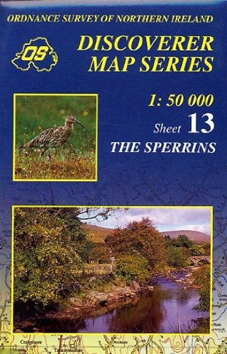 Read Online Discoverer Map 13: the Sperrins (Discoverer Maps N.Ireland) (Irish Discoverer Series) pdf epub