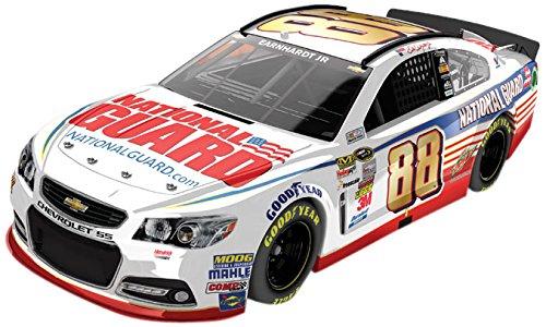 Dale Earnhardt Jr. #88 National Guard 2014 Pocono 400 Raced Win Die-cast Car, 1:24 Scale HOTO (National Guard Diecast)