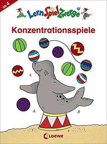 Konzentrationsspiele (LernSpielZwerge - Mal- und Rätselblocks)