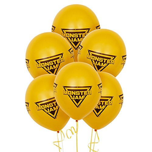 Monster Jam Party Supplies - Latex Balloons