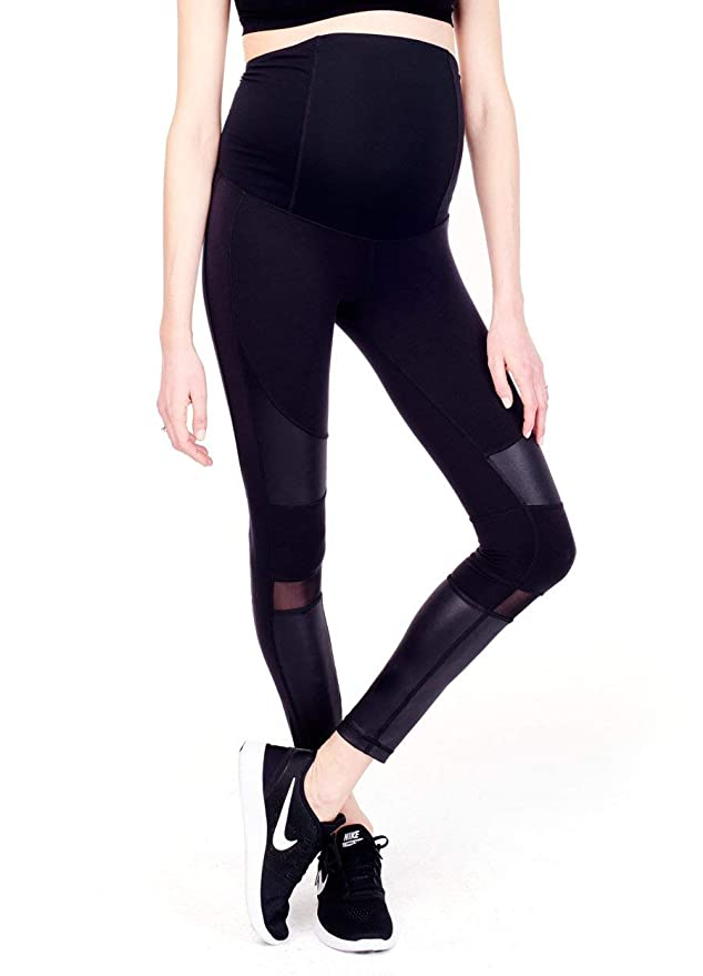 a9ce43e0110be Ingrid & Isabel Women's Maternity Active Moto Legging at Amazon Women's  Clothing store: