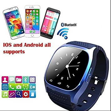 Actividad Tracker, contador de calorías, llamada SMS WhatsApp reloj inteligente, Control remoto cámara