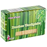 Good Old Values Bamboo Toothpicks, Pack of 1000