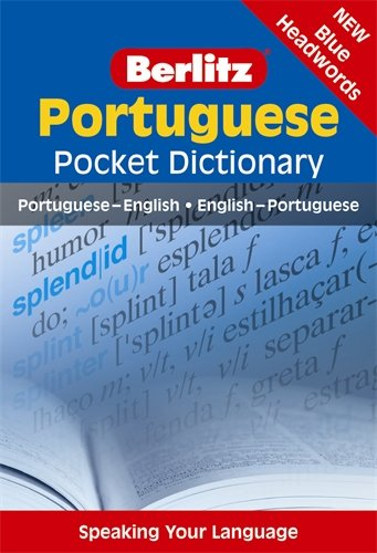 Portuguese Pocket Dictionary (Berlitz Pocket Dictionary) (Portuguese Edition)