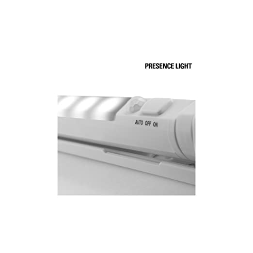 Presence Light Tubo LED con Sensor de Movimiento, Blanco, 27.5 x 3 x 2.5 cm: Amazon.es: Iluminación