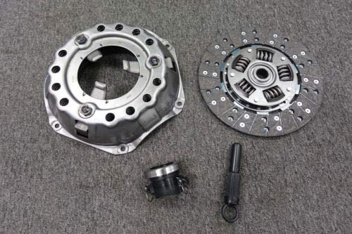 Compatible Dodge and Plymouth 10.5 Clutch Kit Complete with 130 Tooth Flywheel ()