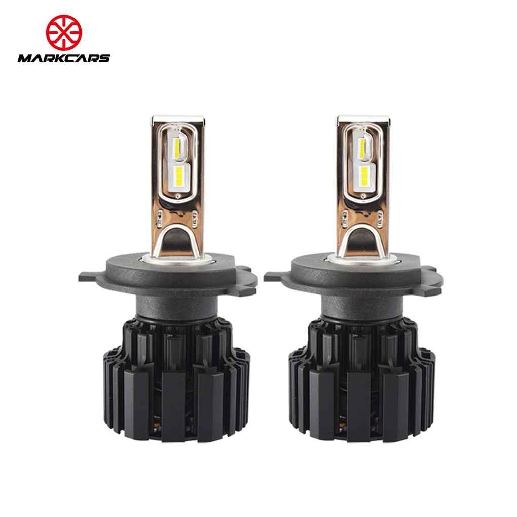 Egal 2pcs 50 W 6500 K 13600lm h4 h7 p9 LED車ヘッドライト電球ロービームヘッドライト電球高電源自動実行ランプ電球 AMZegal40955 B07D5KSXGN H4 H4