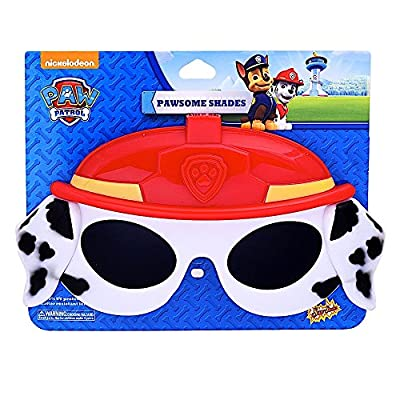 Sun-Staches Costume Sunglasses Lil' Characters Paw Patrol Marshall Kids Party Favors UV400: Toys & Games