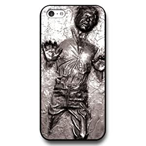 UniqueBox - Customized Personalized Black Hard Plastic 5c Case, Star Wars iPhone 5C case, Star Wars Han Solo, Death Star, Darth Vader, Logo iPhone 5c case, Only Fit iPhone 5C Case