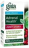 Gaia Herbs Adrenal Health Jump Start Supplement, 60 Count