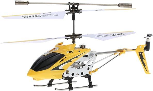 Goolsky Syma S107G R / C Helicóptero teledirigido para interiores ...