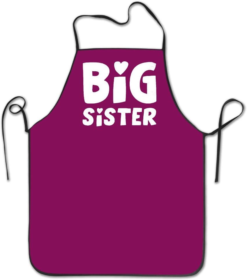Unisex Big Sister hermano Regalo Elder Sister adulto–Delantal de cocina