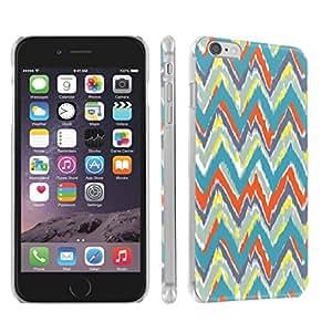 Skinguardz Iphone 6 (4.7) (Teal Tribal) Ultra Slim Light Weight Plastic Cover Case