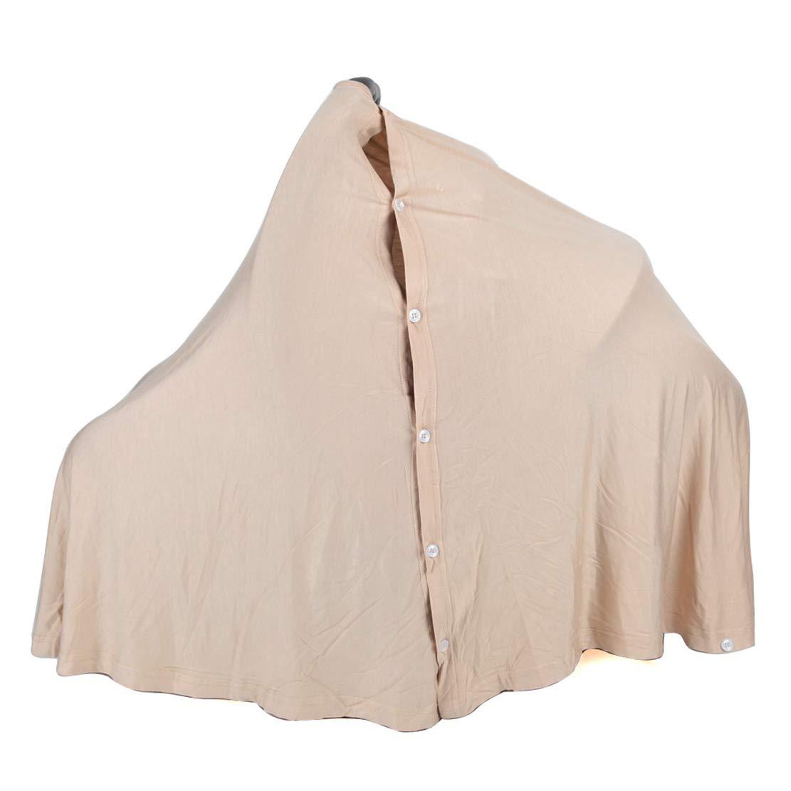 Manta de Lactancia enfermer/ía Pa/ñuelo de Lactancia Cubierta del Cochecito de Beb/é Pa/ñuelo de la bufanda de la Lactancia Chal para beb/és