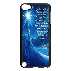 High Quality -ChenDong PHONE CASE- FOR Ipod Touch 5 -Frozen Forever,Snow Queen and Olaf-UNIQUE-DESIGH 14