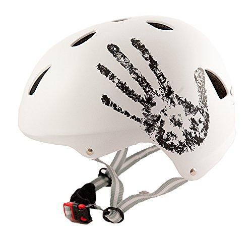 Sport DirectTM Bike BMX/Skateboard-Zyklus Fahrradhelm weiß 55-58 cm