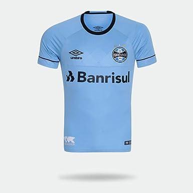 Camisa Umbro Grêmio 2018 Charrua Azul Claro Masculina M  Amazon.com ... 44a107270236c
