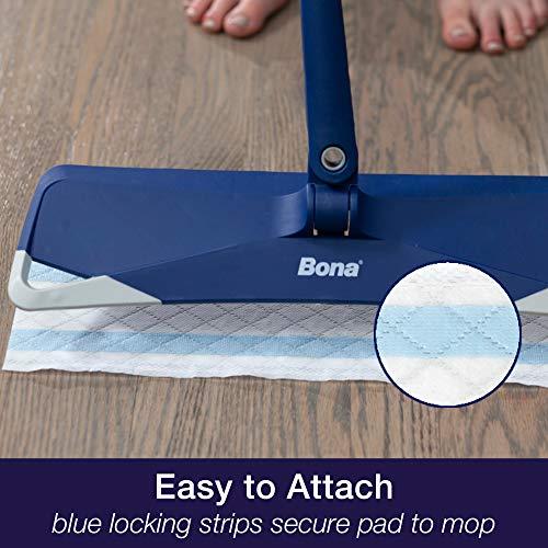 Bona Hardwood Disposable, 12 Count Floor Wet Cleaning Pad