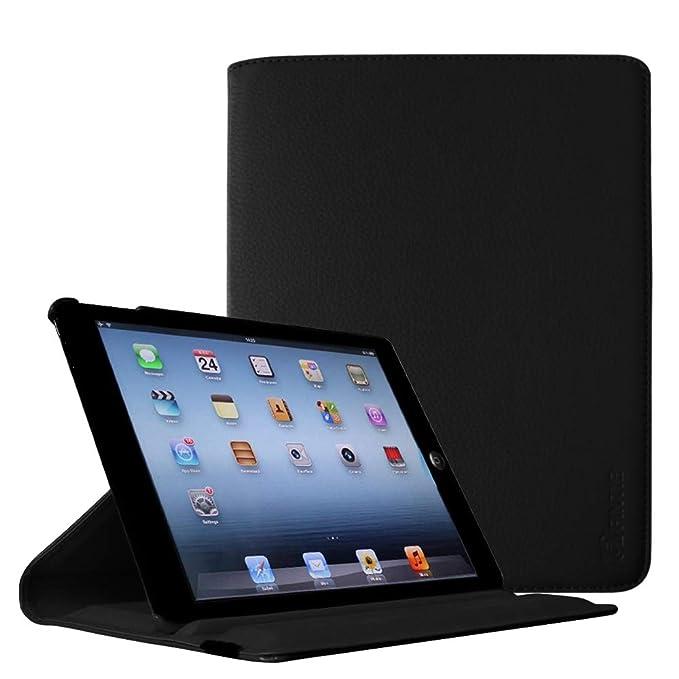 Fintie Hülle für iPad 2 / iPad 3/ iPad 4, 360 Grad verstellbare Schutzhülle Cover mit Standfunktion, Auto Sleep/Wake für iPad