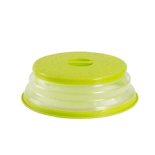 veklblan 1pcs Plegable Microondas Tapa Colador Colador De ...