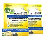 Lypsyl Extreme Cold Sore Relief 2 Tubes