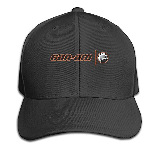 BACADI Unisex Can Am Spyder Logo Adjustable Peaked Baseball Caps Hats Duck Tongue Hat