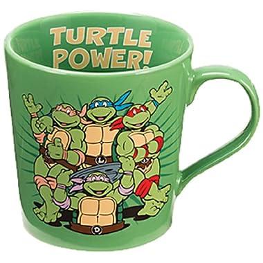Vandor 38061 Teenage Mutant Ninja Turtles 12 oz Ceramic mug, Multicolor