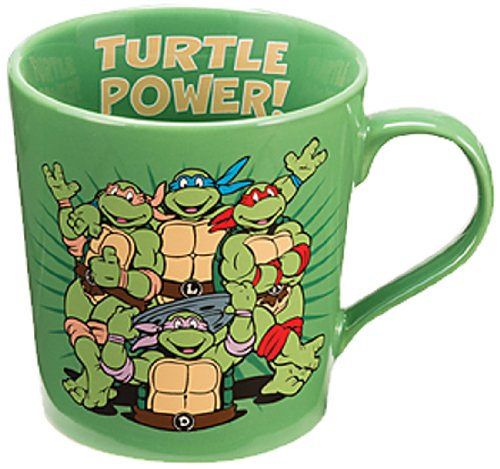 Vandor 38061 Teenage Mutant Ninja Turtles 12 oz Ceramic mug, ()