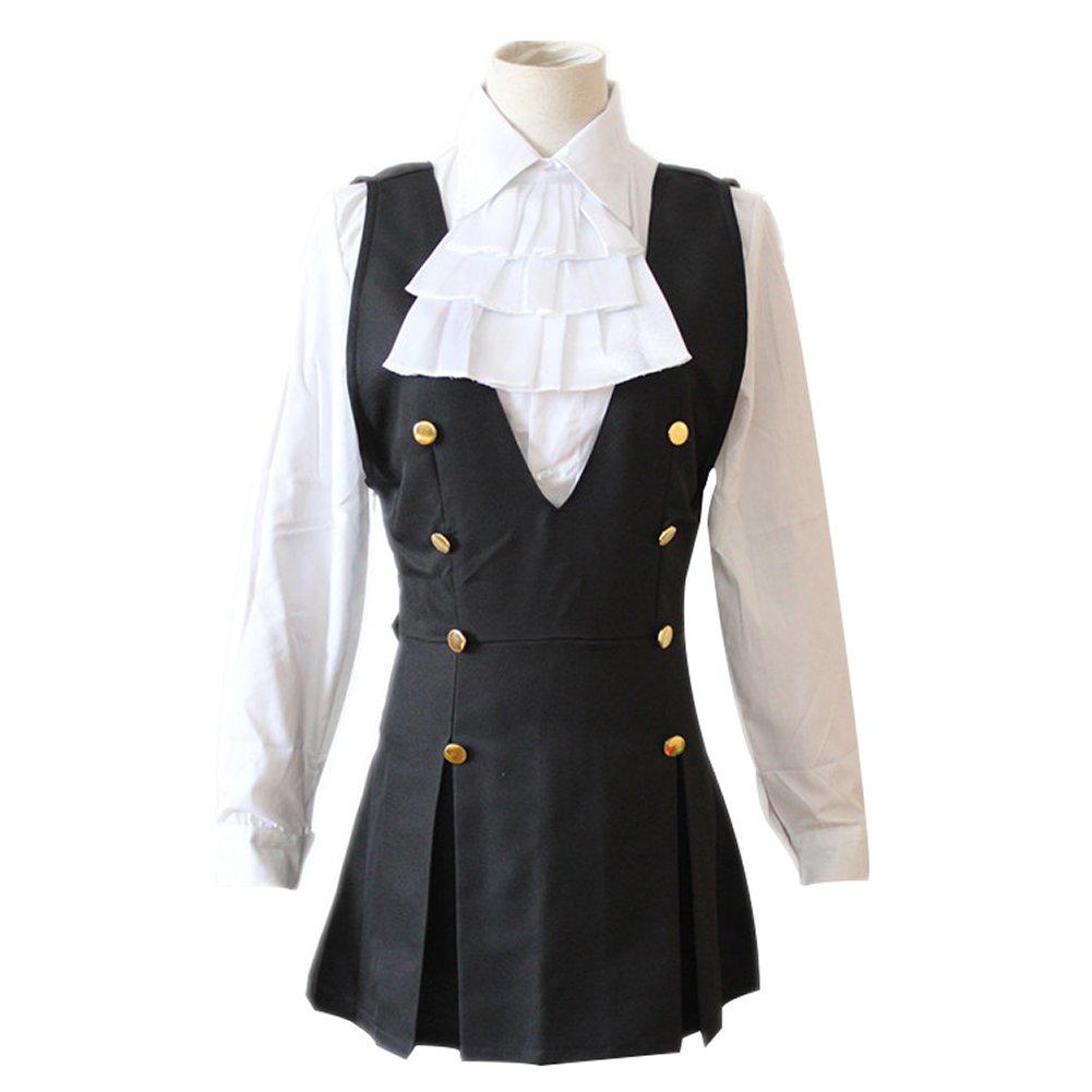 Amazon.com  Mtxc Women s Inu x Boku SS Cosplay costume Ririchiyo Shirakiin  School Uniform  Clothing b299e8fea9