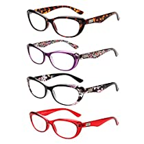 LianSan Vintage Readers Wayfarer Frames Cat Eye Reading Glasses L3705