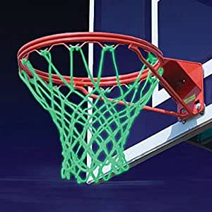 Glow in the Dark Basketball Net a Solar Powered Net that Fits Any Standard Size Basketball Hoop