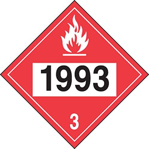accuform-signs-mpl736vs1-adhesive-vinyl-4-digit-dot-placard-hazard-class-3-legend-1993-flammable-liq