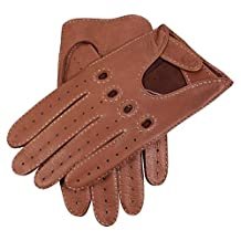 Havana Brown Winchester Deerskin Leather Driving Gloves by Dents - Extra Large